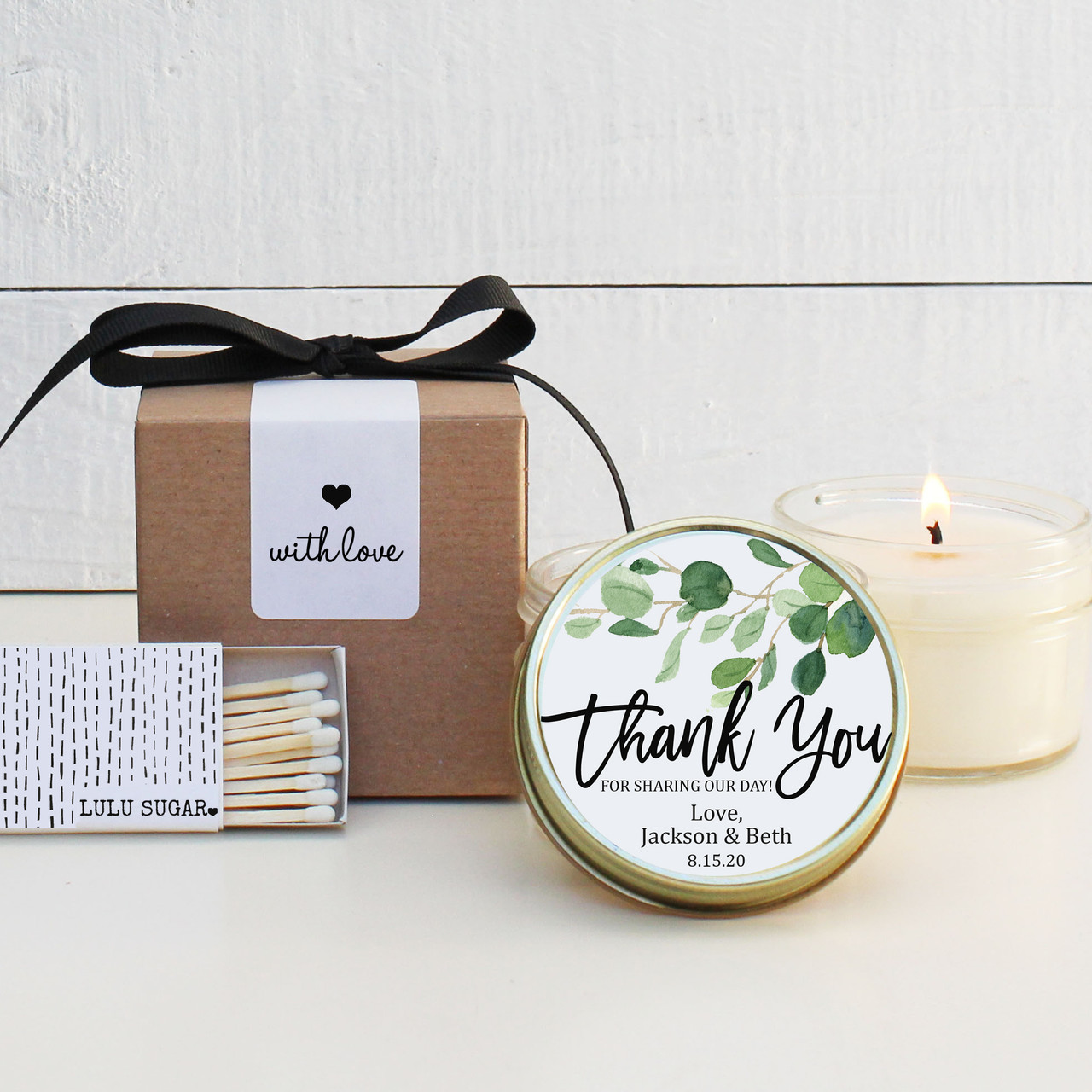Wedding candle Corporate Candle Client Candle Bespoke candle Personalisation candle Personalised candle Bridal shower gift
