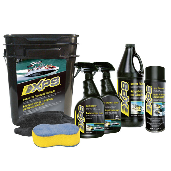 XPS BOAT/PWC CLEANING & DETAILING KIT