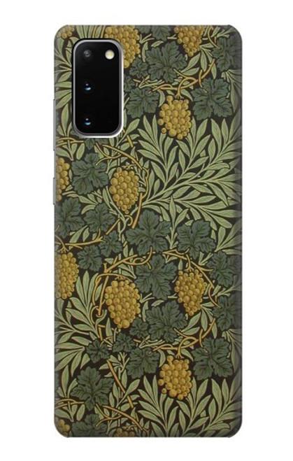 S3662 William Morris Vine Pattern Case For Samsung Galaxy S20