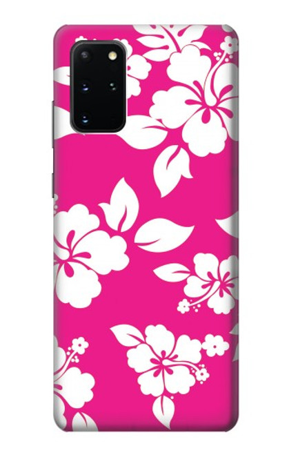 S2246 Hawaiian Hibiscus Pink Pattern Case For Samsung Galaxy S20 Plus, Galaxy S20+