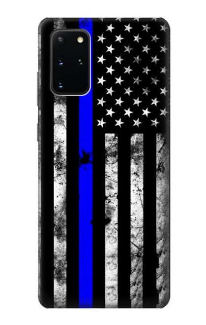 S3244 Thin Blue Line USA Case For Samsung Galaxy S20 Plus, Galaxy S20+