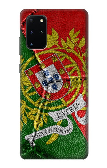 S3300 Portugal Flag Vintage Football Graphic Case For Samsung Galaxy S20 Plus, Galaxy S20+