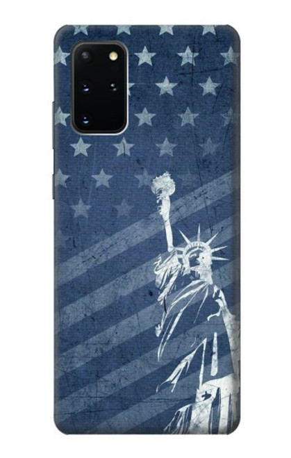S3450 US Flag Liberty Statue Case For Samsung Galaxy S20 Plus, Galaxy S20+