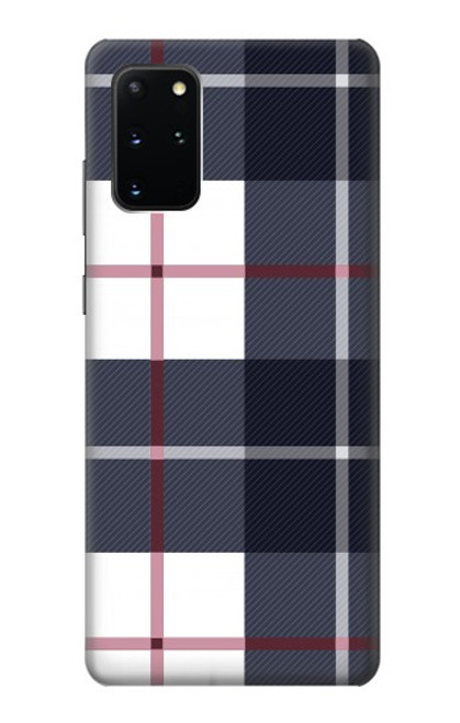 S3452 Plaid Fabric Pattern Case For Samsung Galaxy S20 Plus, Galaxy S20+