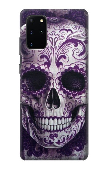 S3582 Purple Sugar Skull Case For Samsung Galaxy S20 Plus, Galaxy S20+