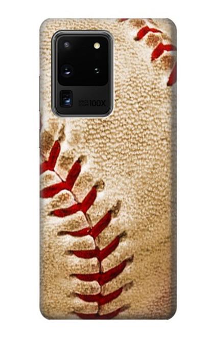 S0064 Baseball Case For Samsung Galaxy S20 Ultra