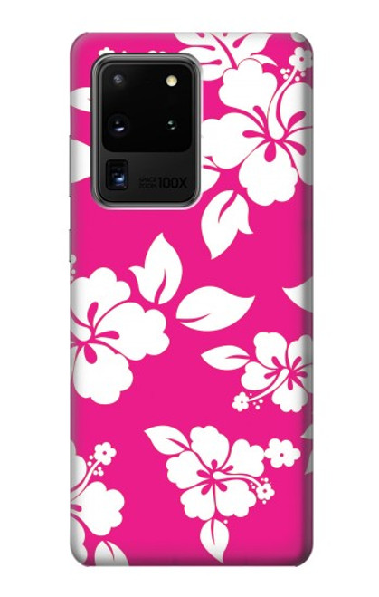 S2246 Hawaiian Hibiscus Pink Pattern Case For Samsung Galaxy S20 Ultra