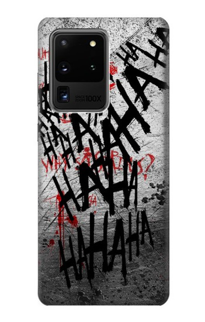 S3073 Joker Hahaha Blood Splash Case For Samsung Galaxy S20 Ultra