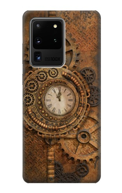 S3401 Clock Gear Steampunk Case For Samsung Galaxy S20 Ultra
