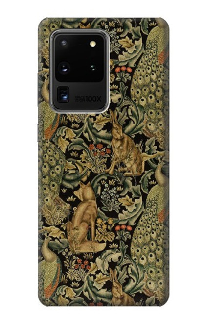 S3661 William Morris Forest Velvet Case For Samsung Galaxy S20 Ultra