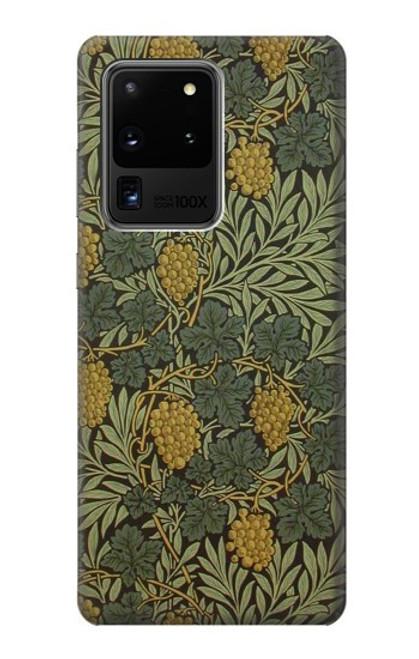 S3662 William Morris Vine Pattern Case For Samsung Galaxy S20 Ultra