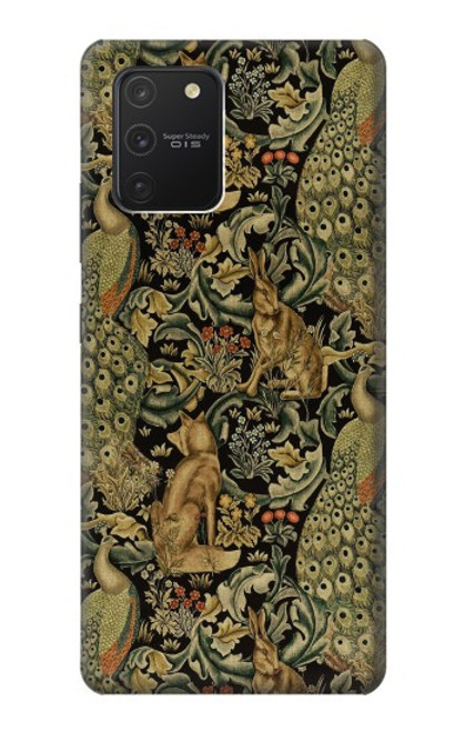 S3661 William Morris Forest Velvet Case For Samsung Galaxy S10 Lite
