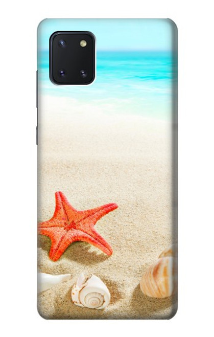 S3212 Sea Shells Starfish Beach Case For Samsung Galaxy Note10 Lite