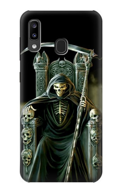 S1024 Grim Reaper Skeleton King Case For Samsung Galaxy A20, Galaxy A30