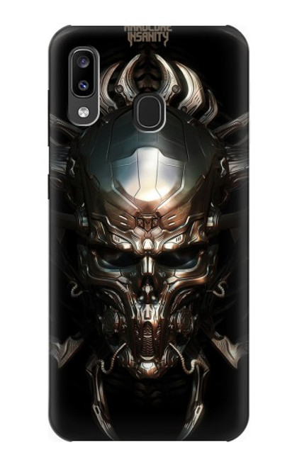 S1027 Hardcore Metal Skull Case For Samsung Galaxy A20, Galaxy A30