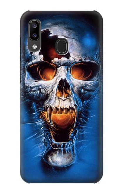S1462 Vampire Skull Case For Samsung Galaxy A20, Galaxy A30