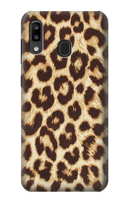 S2204 Leopard Pattern Graphic Printed Case For Samsung Galaxy A20, Galaxy A30
