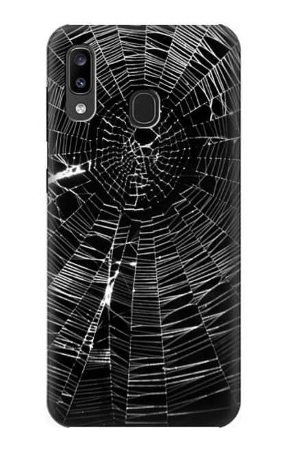 S2224 Spider Web Case For Samsung Galaxy A20, Galaxy A30
