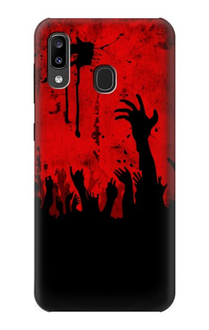 S2458 Zombie Hands Case For Samsung Galaxy A20, Galaxy A30