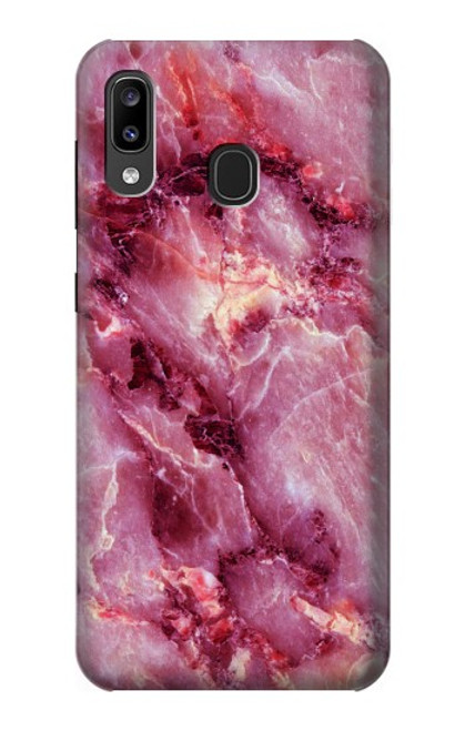 S3052 Pink Marble Graphic Printed Case For Samsung Galaxy A20, Galaxy A30
