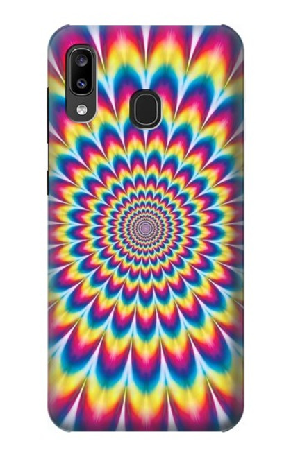 S3162 Colorful Psychedelic Case For Samsung Galaxy A20, Galaxy A30