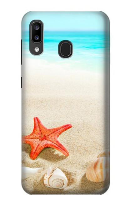 S3212 Sea Shells Starfish Beach Case For Samsung Galaxy A20, Galaxy A30