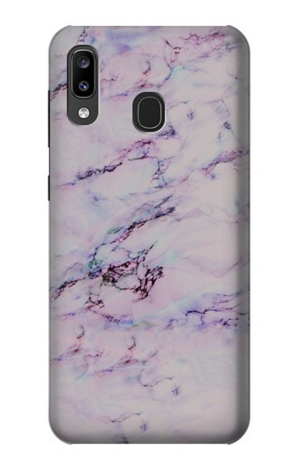 S3215 Seamless Pink Marble Case For Samsung Galaxy A20, Galaxy A30