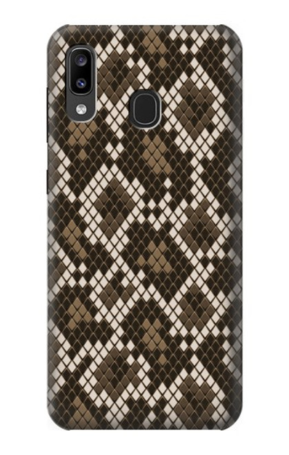 S3389 Seamless Snake Skin Pattern Graphic Case For Samsung Galaxy A20, Galaxy A30