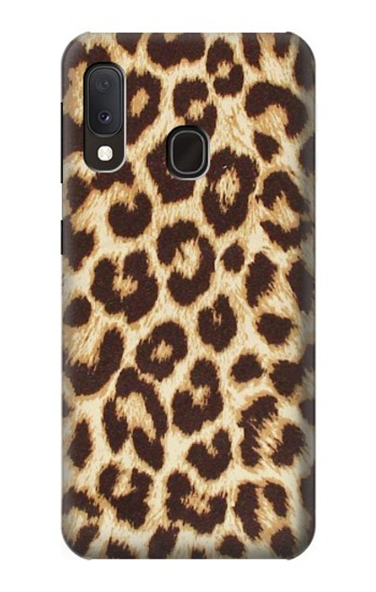 S2204 Leopard Pattern Graphic Printed Case For Samsung Galaxy A20e