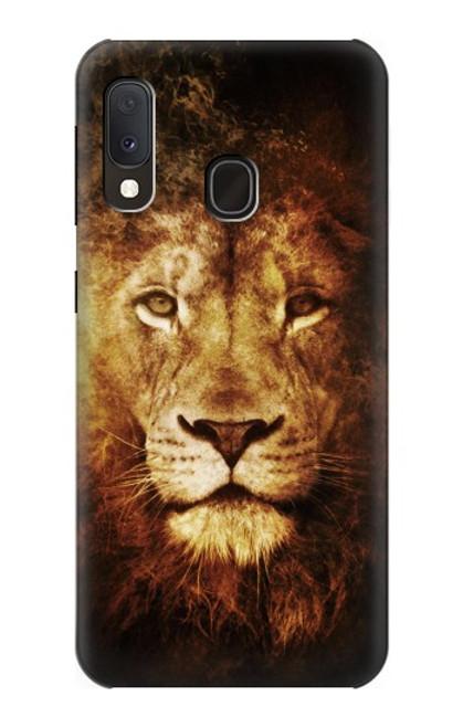 S3182 Lion Case For Samsung Galaxy A20e