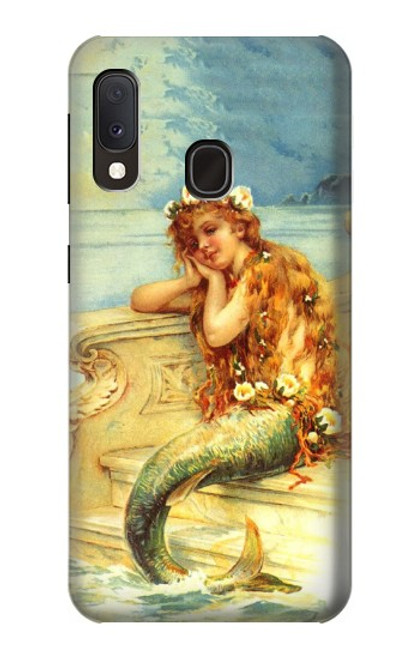 S3184 Little Mermaid Painting Case For Samsung Galaxy A20e