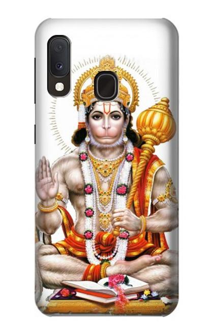 S3186 Lord Hanuman Chalisa Hindi Hindu Case For Samsung Galaxy A20e