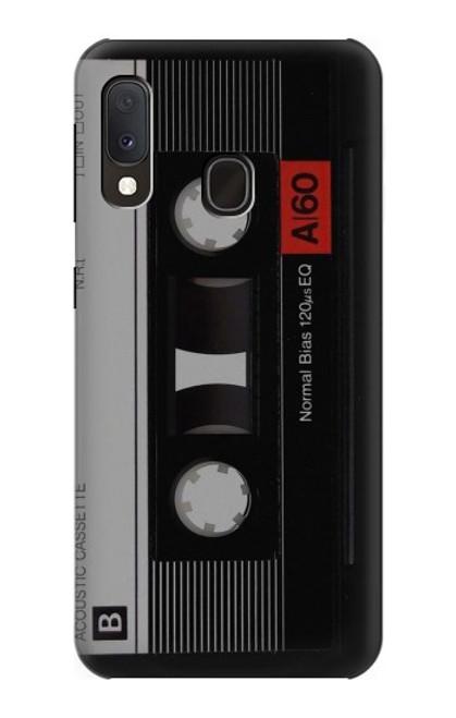 S3516 Vintage Cassette Tape Case For Samsung Galaxy A20e