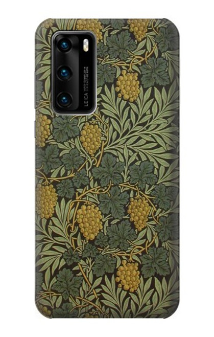S3662 William Morris Vine Pattern Case For Huawei P40