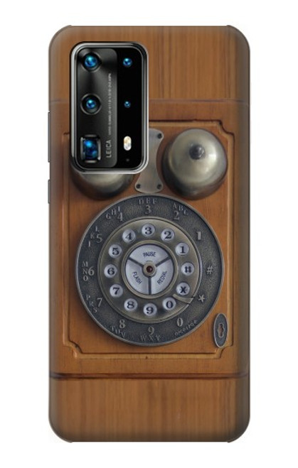 S3146 Antique Wall Retro Dial Phone Case For Huawei P40 Pro