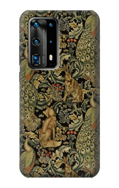 S3661 William Morris Forest Velvet Case For Huawei P40 Pro