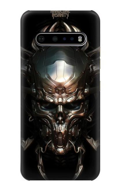 S1027 Hardcore Metal Skull Case For LG V60 ThinQ 5G