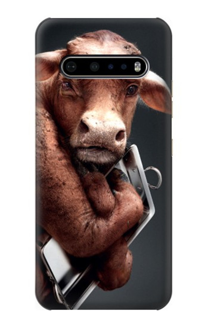 S1271 Crazy Cow Case For LG V60 ThinQ 5G