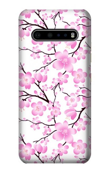 S1972 Sakura Cherry Blossoms Case For LG V60 ThinQ 5G