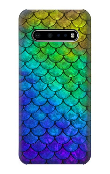 S2930 Mermaid Fish Scale Case For LG V60 ThinQ 5G