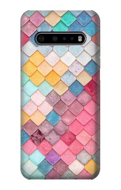 S2947 Candy Minimal Pastel Colors Case For LG V60 ThinQ 5G