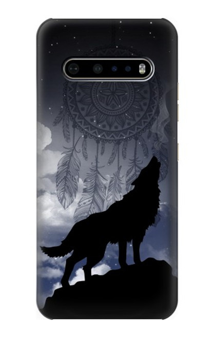 S3011 Dream Catcher Wolf Howling Case For LG V60 ThinQ 5G