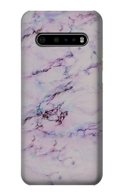 S3215 Seamless Pink Marble Case For LG V60 ThinQ 5G