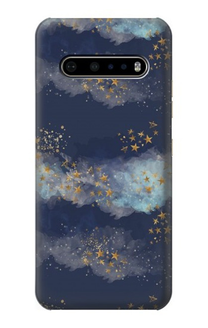 S3364 Gold Star Sky Case For LG V60 ThinQ 5G