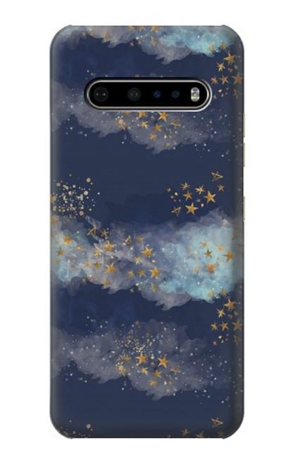 S3364 Gold Star Sky Case For LG V60 ThinQ 5G