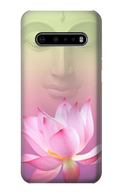 S3511 Lotus flower Buddhism Case For LG V60 ThinQ 5G