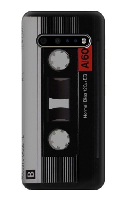 S3516 Vintage Cassette Tape Case For LG V60 ThinQ 5G