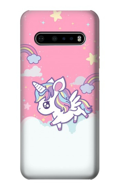 S3518 Unicorn Cartoon Case For LG V60 ThinQ 5G