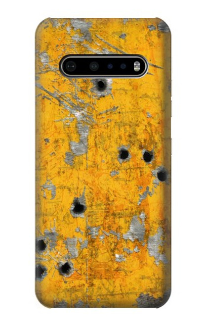 S3528 Bullet Rusting Yellow Metal Case For LG V60 ThinQ 5G