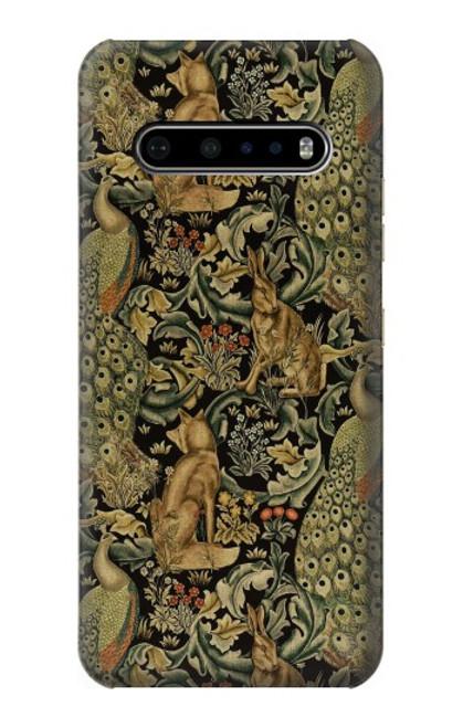 S3661 William Morris Forest Velvet Case For LG V60 ThinQ 5G